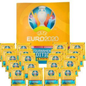 Panini EURO 2020 Sticker Tournament - Album + 20x Tüten
