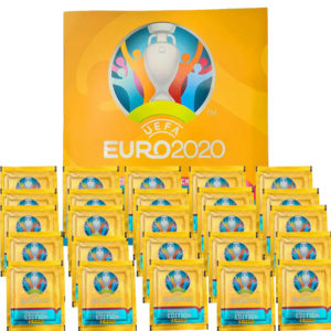 Panini EURO 2020 Sticker Tournament - Album + 25x Tüten