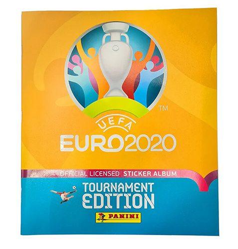 Panini EURO 2020 Tournament Edition Sticker - 1x Stickeralbum
