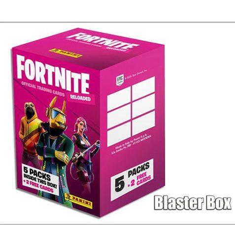 Panini Fortnite 2 Reloaded Blaster Box