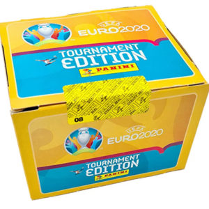 Panini EURO 2020 Tournament Edition Sticker - Display