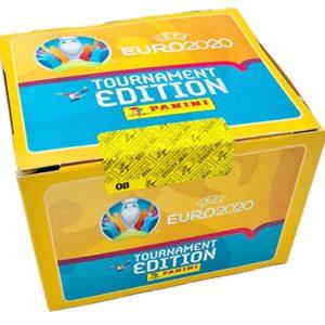 Panini EURO 2020 Tournament Edition Sticker - Display