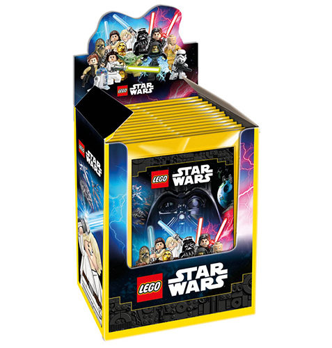 Lego Star Wars Sticker Display