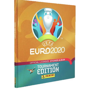Panini EURO 2020 Tournament Edition Sticker Hardcover Album
