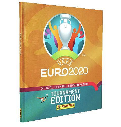 Panini EURO 2020 Tournament Edition Sticker Hardcover Album