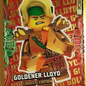 Ninjago LE 1 Goldener LLOYD