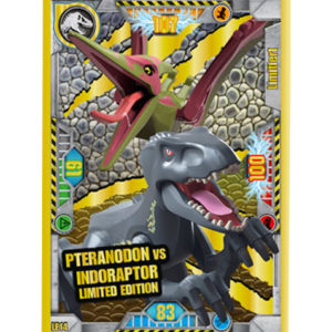 Lego Jurassic World LE14 Pteranodon vs Indoraptor