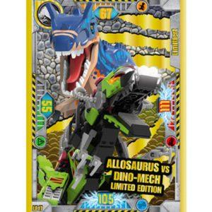 Lego Jurassic World LE17 Allosaurus vs Dino-Mech