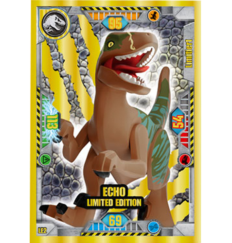 Lego Jurassic World LE2 Echo