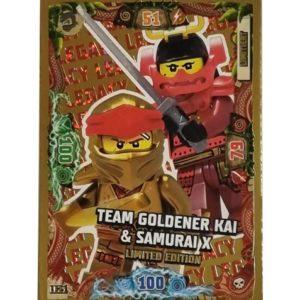 Lego Ninjago LE 21 Team Goldener Kai & Samurai X