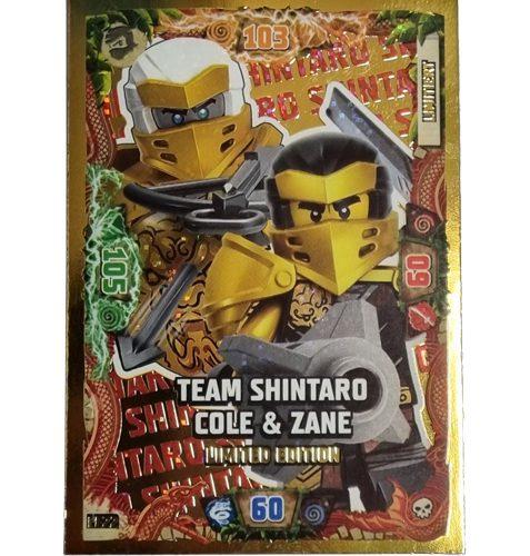 Lego Ninjago LE 22 Team Shintaro Cole & Zane