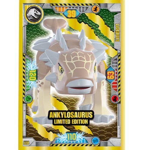 Lego Jurassic World LE8 Ankylosaurus