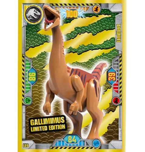 Lego Jurassic World LE9 Gallimimus Limited