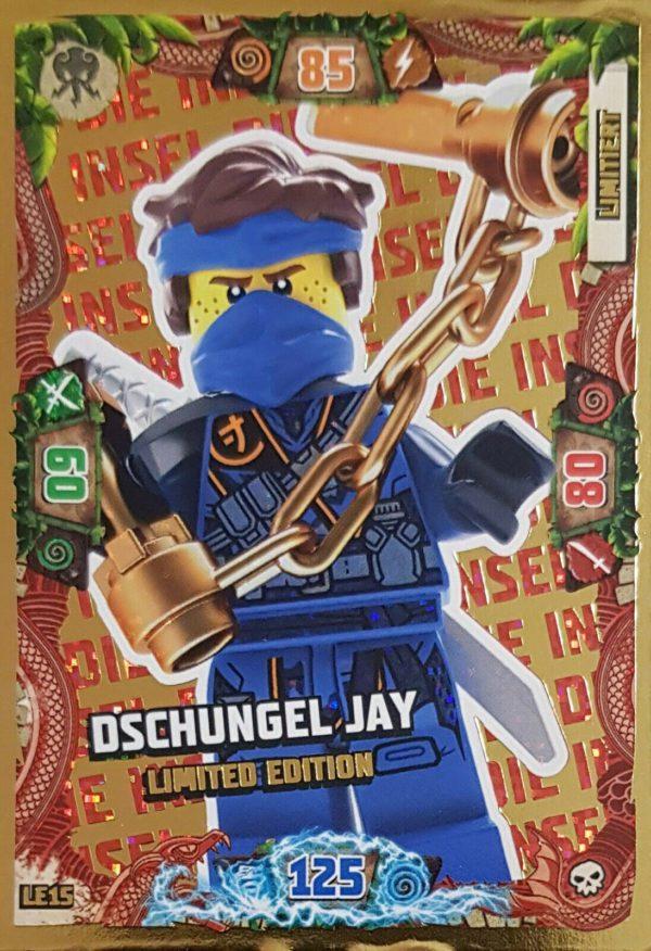 Ninjago LE 15 Dschungel Jay