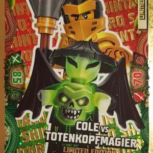 Lego Ninjago LE 24 Cole vs Totenkopfmagier