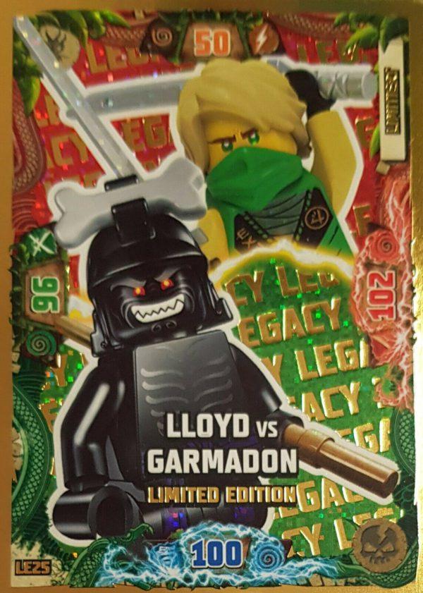 Lego Ninjago LE 25 LLoyd vs Garmadon