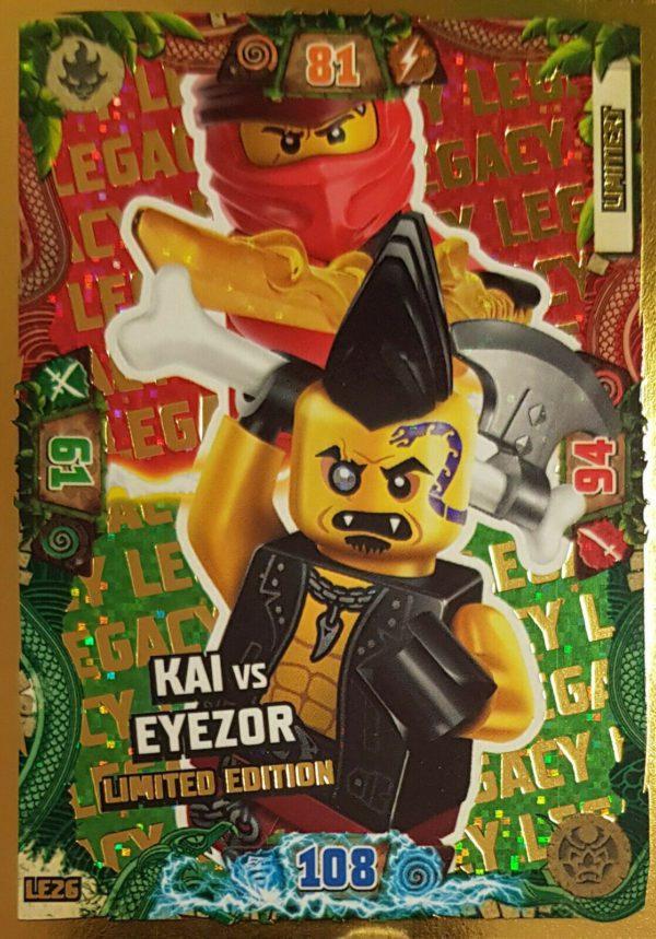 Lego Ninjago LE 26 Kai vs Eyezor