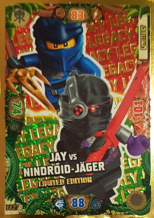 Lego Ninjago LE 27 Jay vs. Nindroid-Jäger