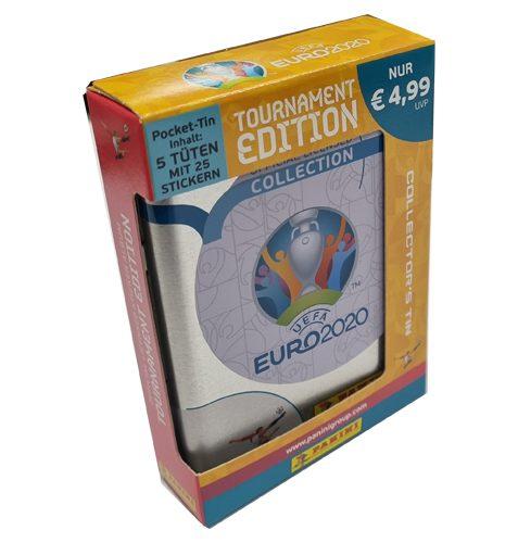 Panini EURO 2020 Tournament Edition Sticker 1x Tin-Box