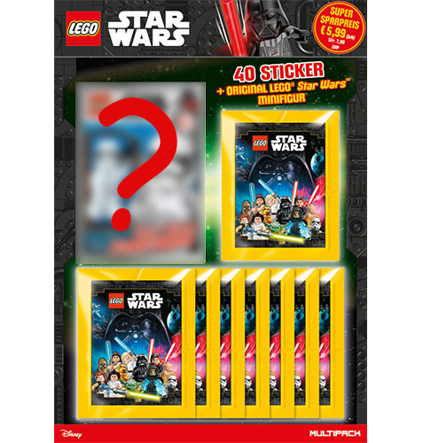 Lego Star Wars Sticker Multipack