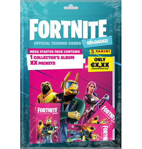 Panini Fortnite 2 Reloaded Trading Card Game 1 x Starterpack