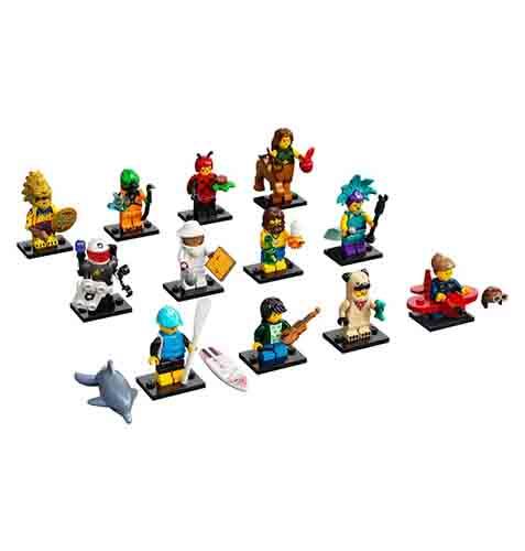 Lego Minifiguren Serie 71029 - alle 12 Figuren