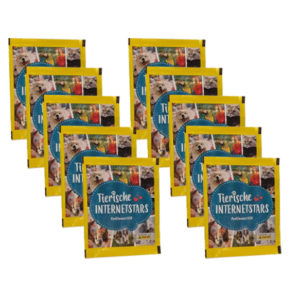 Panini Tierische Internetstars Sticker - 10 x Stickertüten