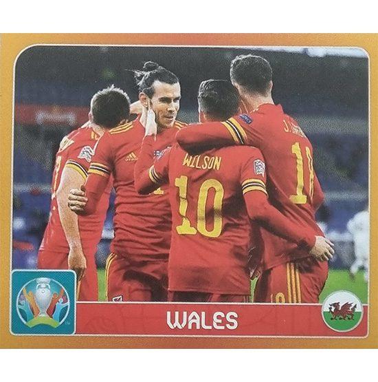 Panini EURO 2020 Sticker Nr 010 Wales