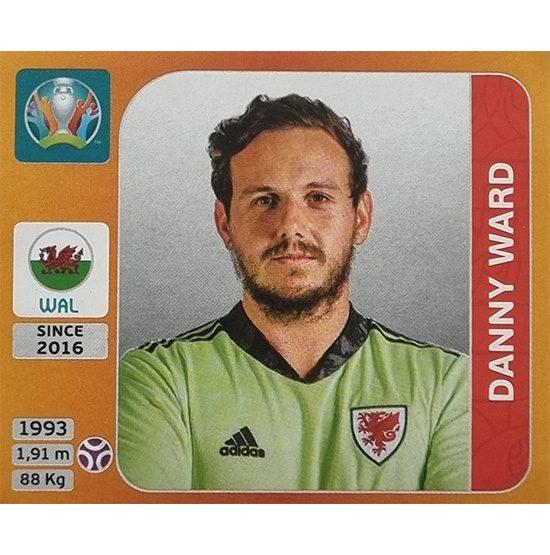 Panini EURO 2020 Sticker Nr 100 Danny Ward