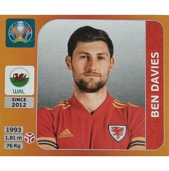 Panini EURO 2020 Sticker Nr 101 Ben Davies