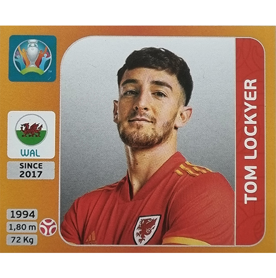 Panini EURO 2020 Sticker Nr 103 Tom Lockyer