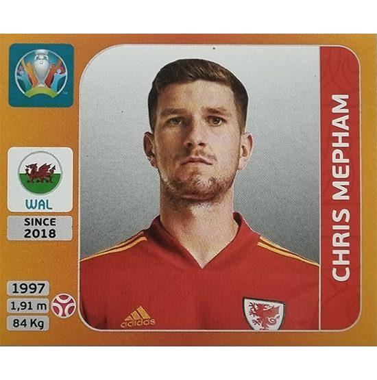 Panini EURO 2020 Sticker Nr 104 Chris Mepham