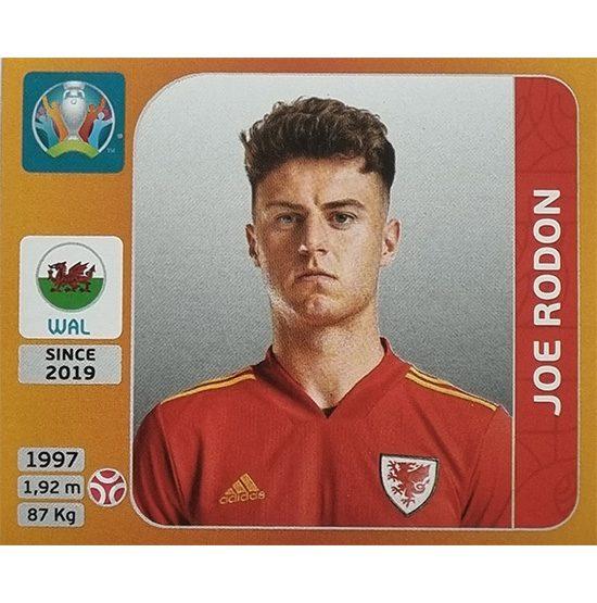 Panini EURO 2020 Sticker Nr 106 Joe Rodon