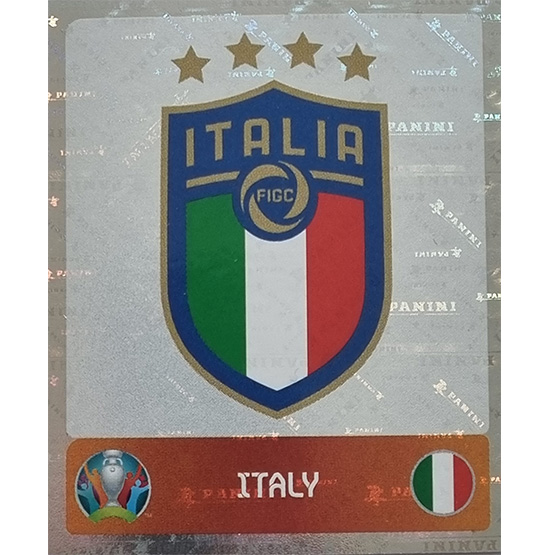 Panini EURO 2020 Sticker Nr 011 Italy Logo