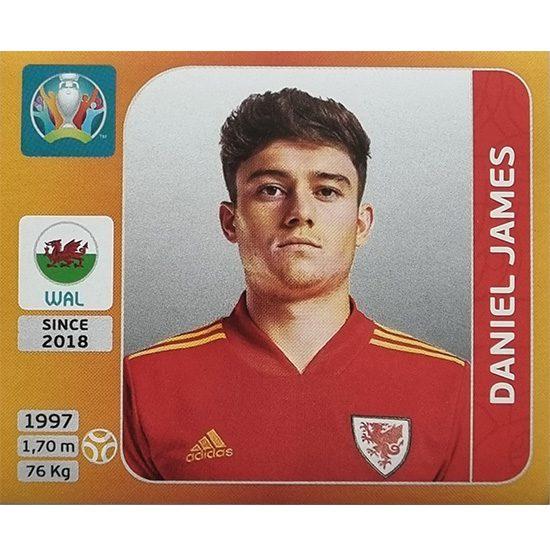 Panini EURO 2020 Sticker Nr 111 Daniel James