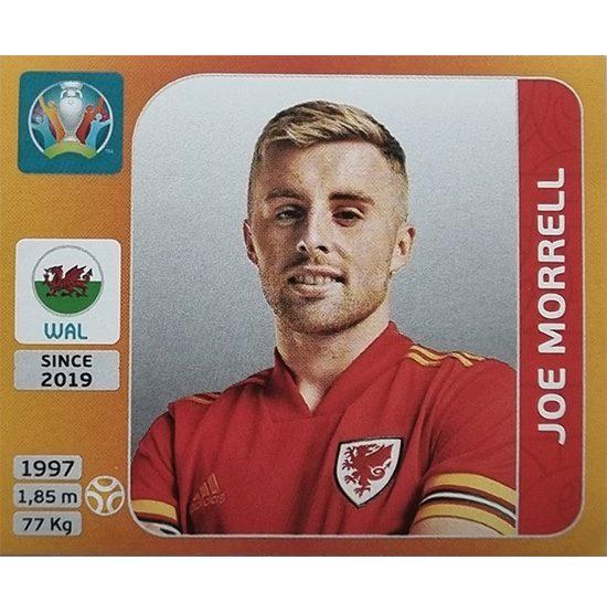 Panini EURO 2020 Sticker Nr 112 Joe Morrell