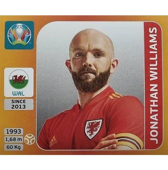 Panini EURO 2020 Sticker Nr 114 Jonathan Williams