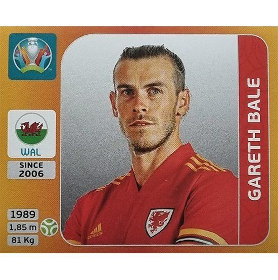 Panini EURO 2020 Sticker Nr 116 Gareth Bale