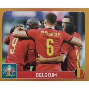 Panini EURO 2020 Sticker Nr 119 Belgium