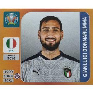 Panini EURO 2020 Sticker Nr 012 Gianluigi Donnarumma