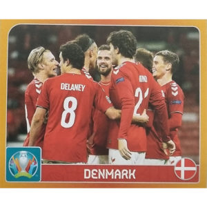 Panini EURO 2020 Sticker Nr 120 Denmark