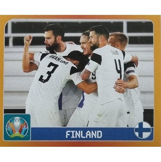 Panini EURO 2020 Sticker Nr 121 Finland