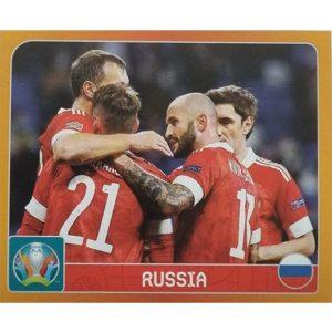 Panini EURO 2020 Sticker Nr 122 Russia