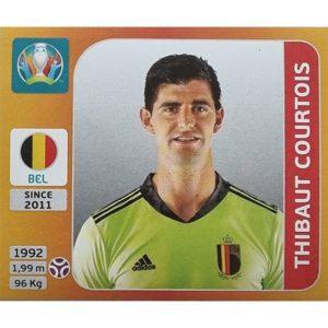 Panini EURO 2020 Sticker Nr 124 Thibaut Courtois