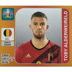 Panini EURO 2020 Sticker Nr 126 Toby Alderweireld