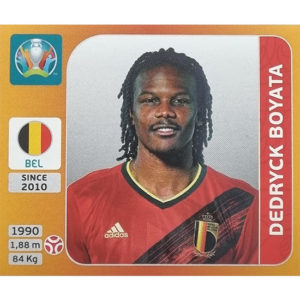 Panini EURO 2020 Sticker Nr 127 Dedryck Boyata