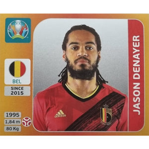Panini EURO 2020 Sticker Nr 129 Jason Denayer