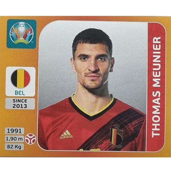 Panini EURO 2020 Sticker Nr 130 Thomas Meunier