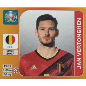 Panini EURO 2020 Sticker Nr 131 Jan Vertonghen
