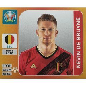 Panini EURO 2020 Sticker Nr 132 Kevin De Bruyne